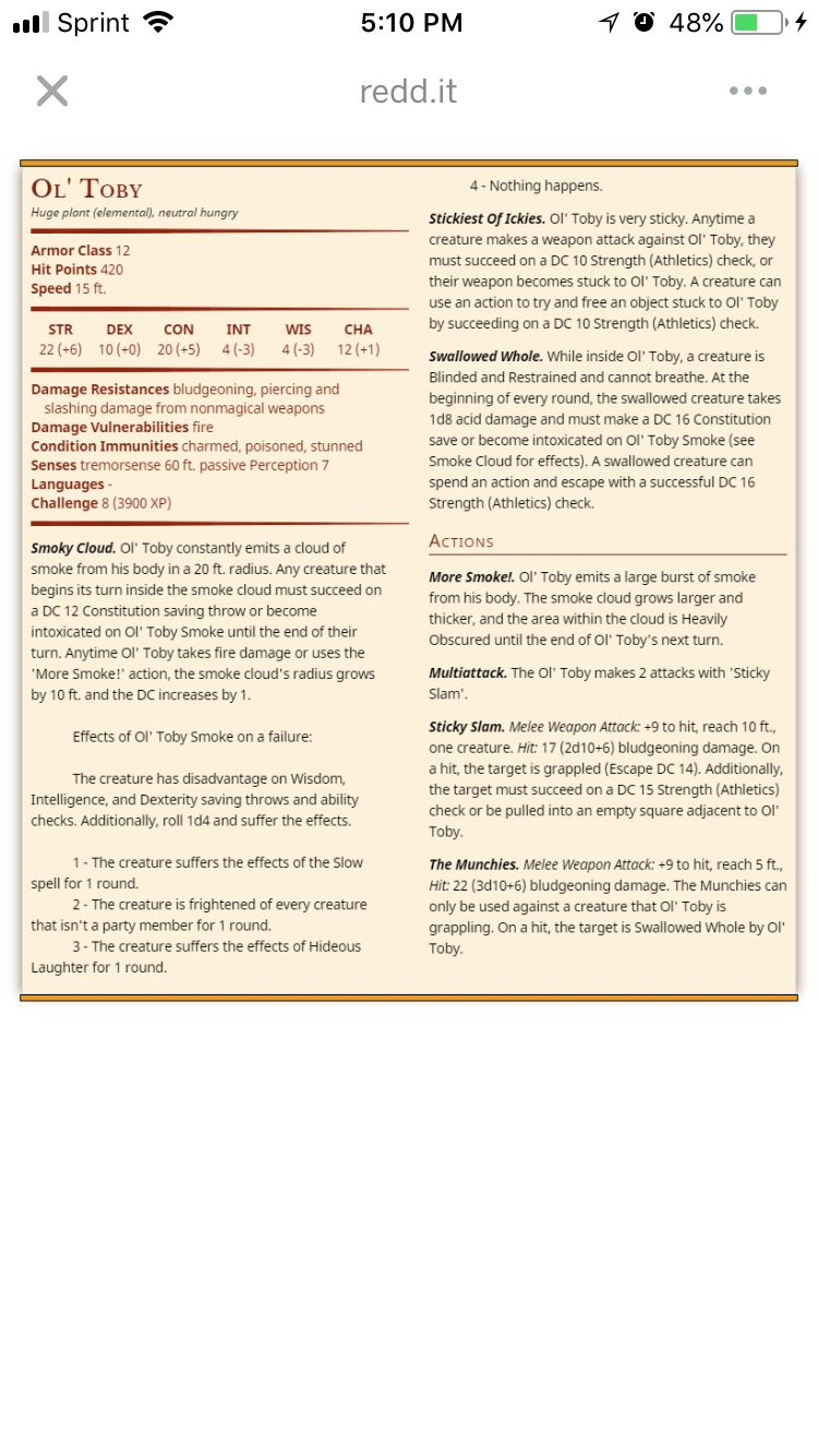 Pin by taia kline on dnd monsters pinterest