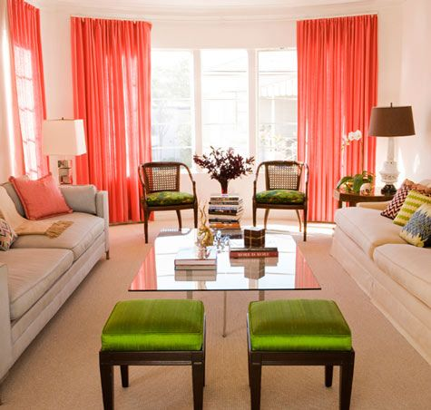 Decorating With Shades Of Coral Living Room Orange Coral Living Rooms Living Room Grey