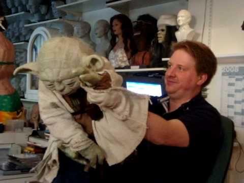Jorg S Yoda Puppet 1 Yoda Star Wars Star Wars Pictures