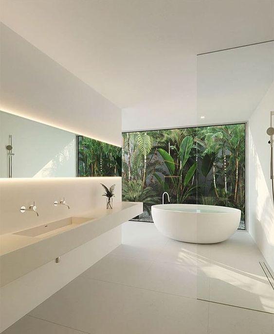 9 New Modern Minimalist Bathroom Ideas - PAGUPONKU