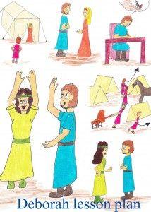 Deborah activities for kids | iHN Teaching Character & Bible | Kids