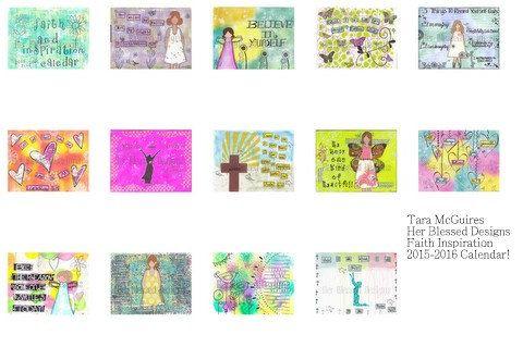 Faith & Inspiration Calendar by HerBlessedDesigns on Etsy
