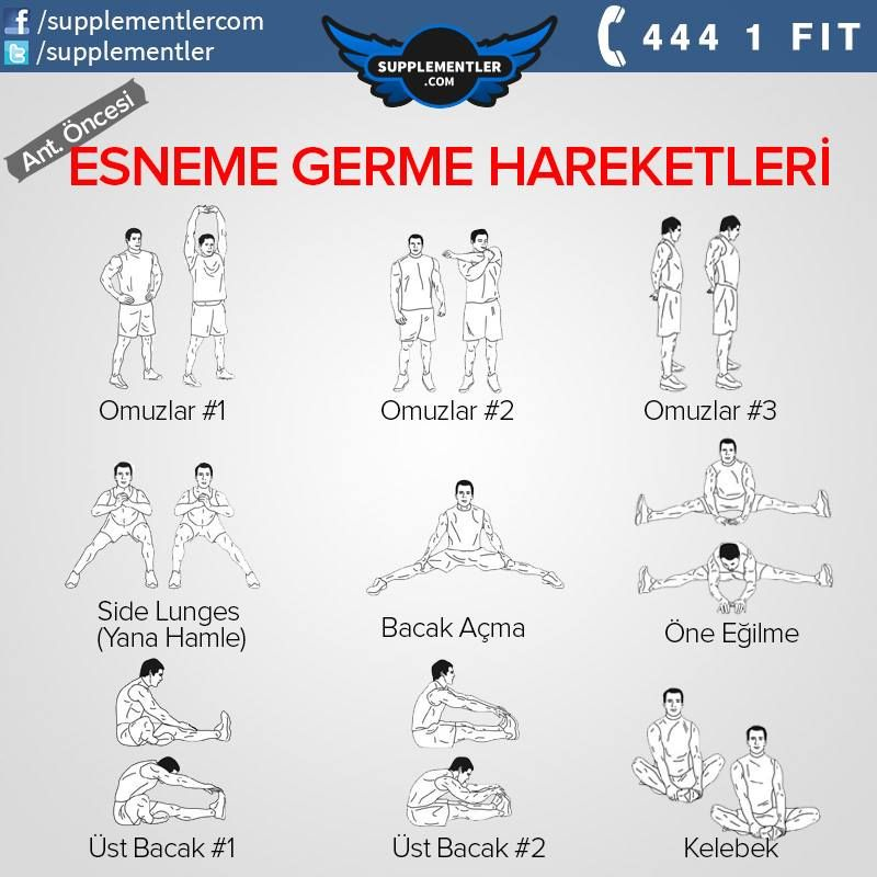 Antrenman öncesi germe egzersizleri #protein #fitness #health #supplement…
