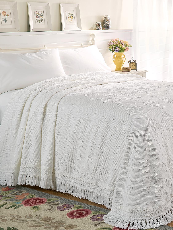 Hobnail Cotton Bedspread Bed spreads, Sham bedding, Bed