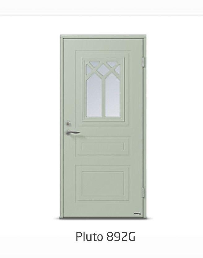 Dooria ytterdörr ljusgrön  sc 1 st  Pinterest & Dooria ytterdörr ljusgrön | Fönster \u0026 dörrar | Pinterest