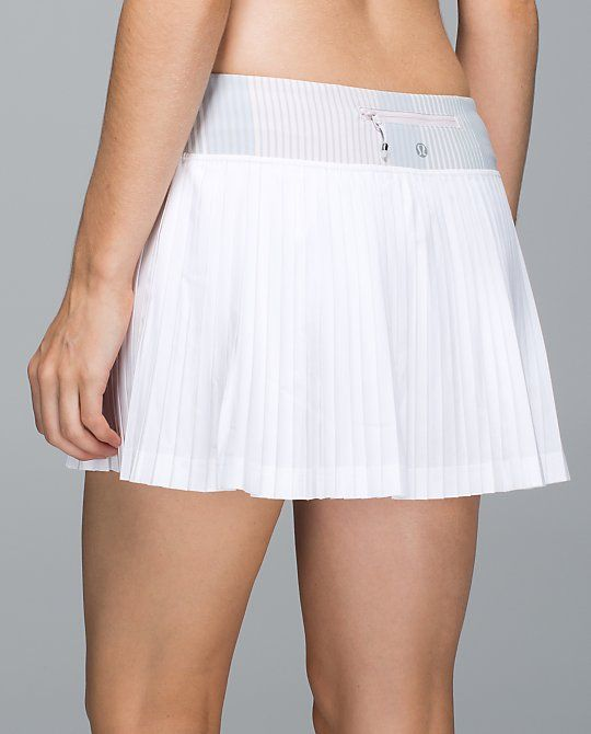 b6e53581e7 Lululemon Pleat to Street Skirt | Golf! | Tennis clothes, White ...
