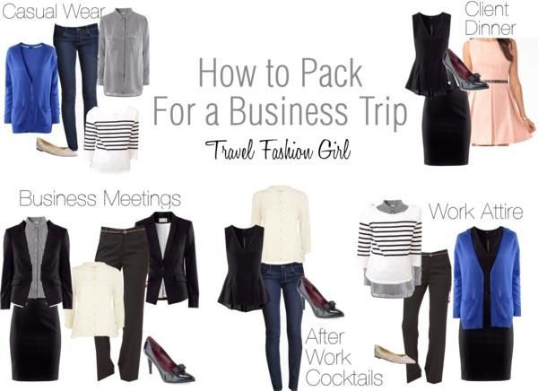 Business Trip Packing List for Minimalist Fashionistas Carry-on