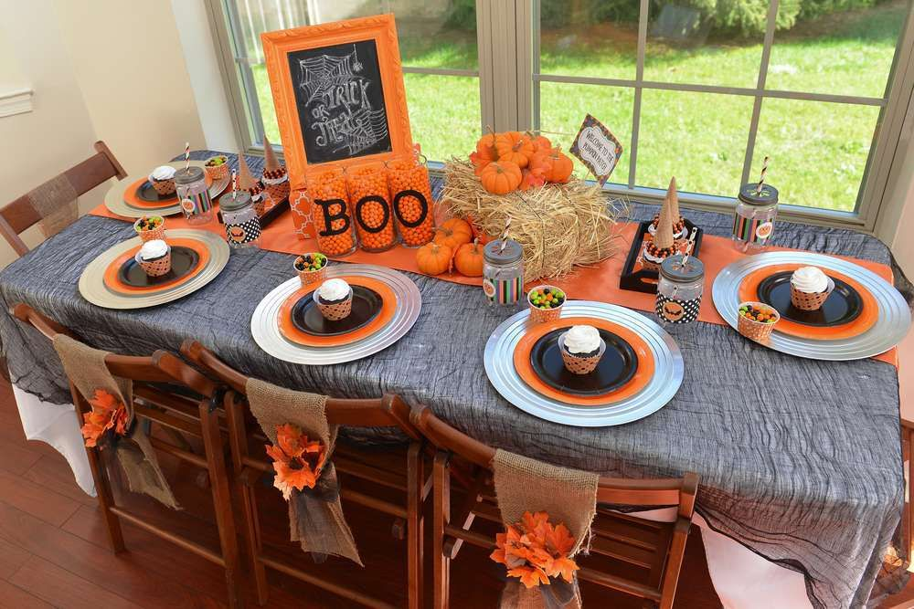 Decoracin de mesas para Halloween Pinterest Decoraciones de