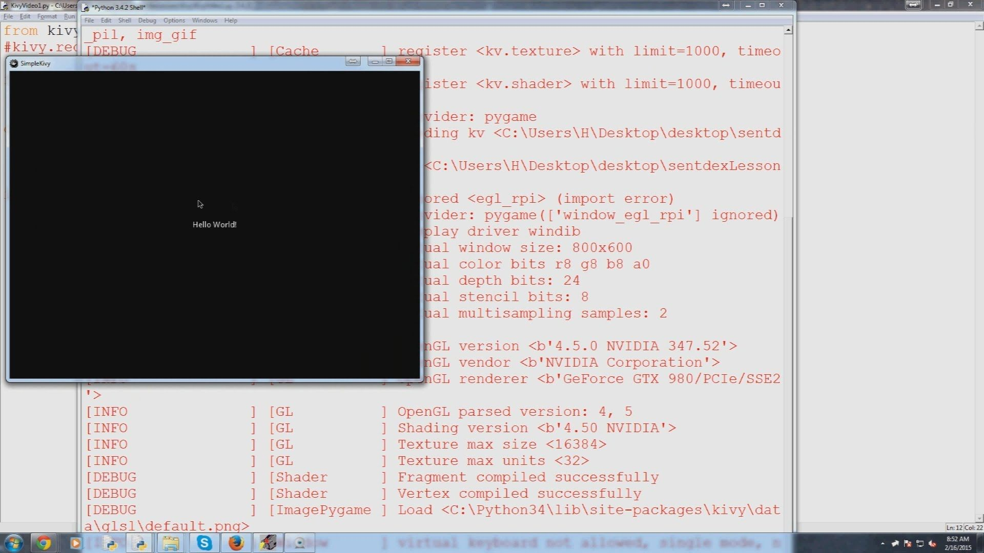 Kivy with Python tutorial for Mobile Application Development