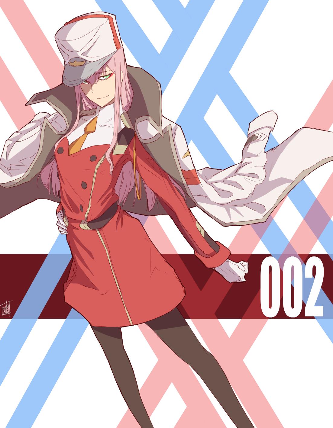 Darling In The Franartxx Darling In The Franxx Anime Zero Two