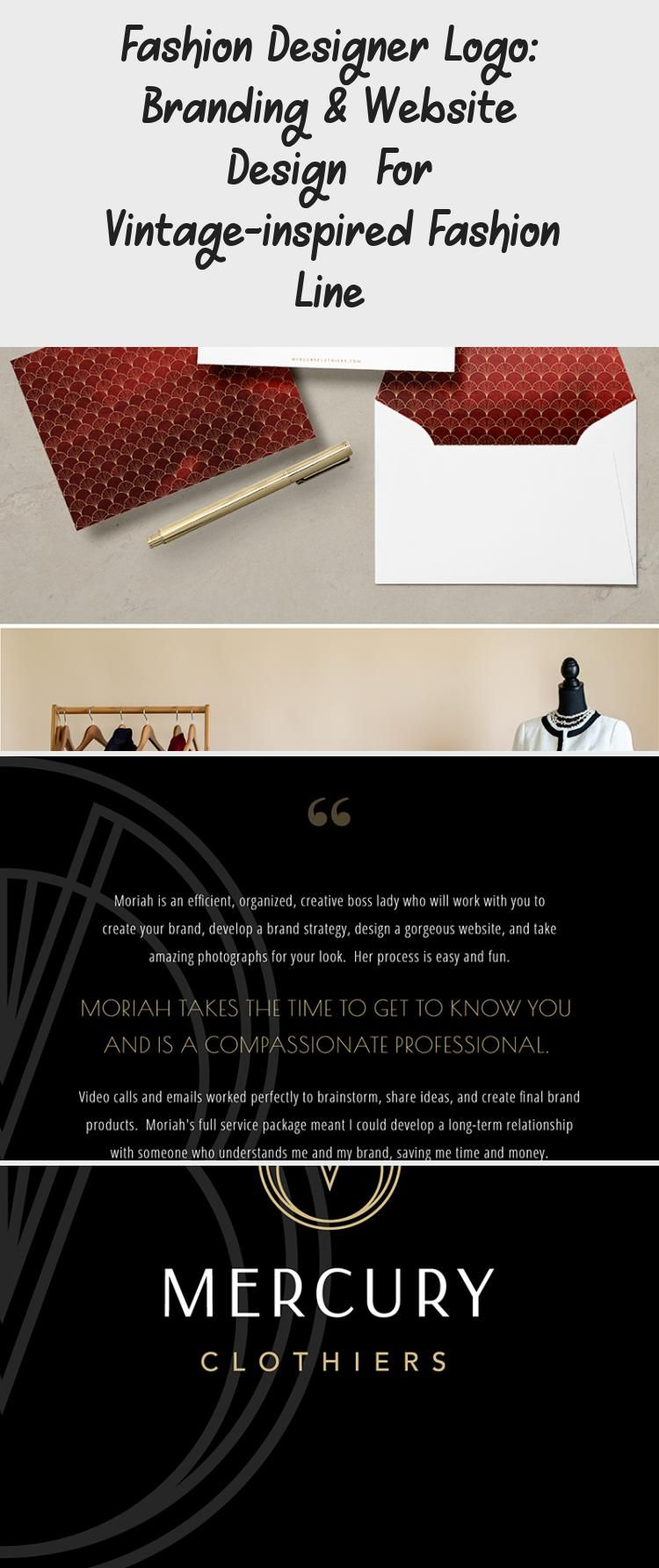 Photo of Branding for a fashion designer — check out the all new logo, branding and cus…