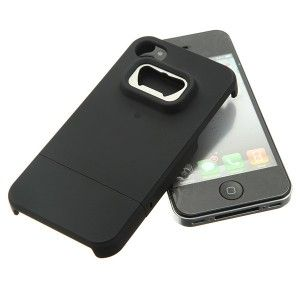 Coque iPhone 4 décapsuleur noir. | Coque iphone 4, Iphone 4, Coque ...