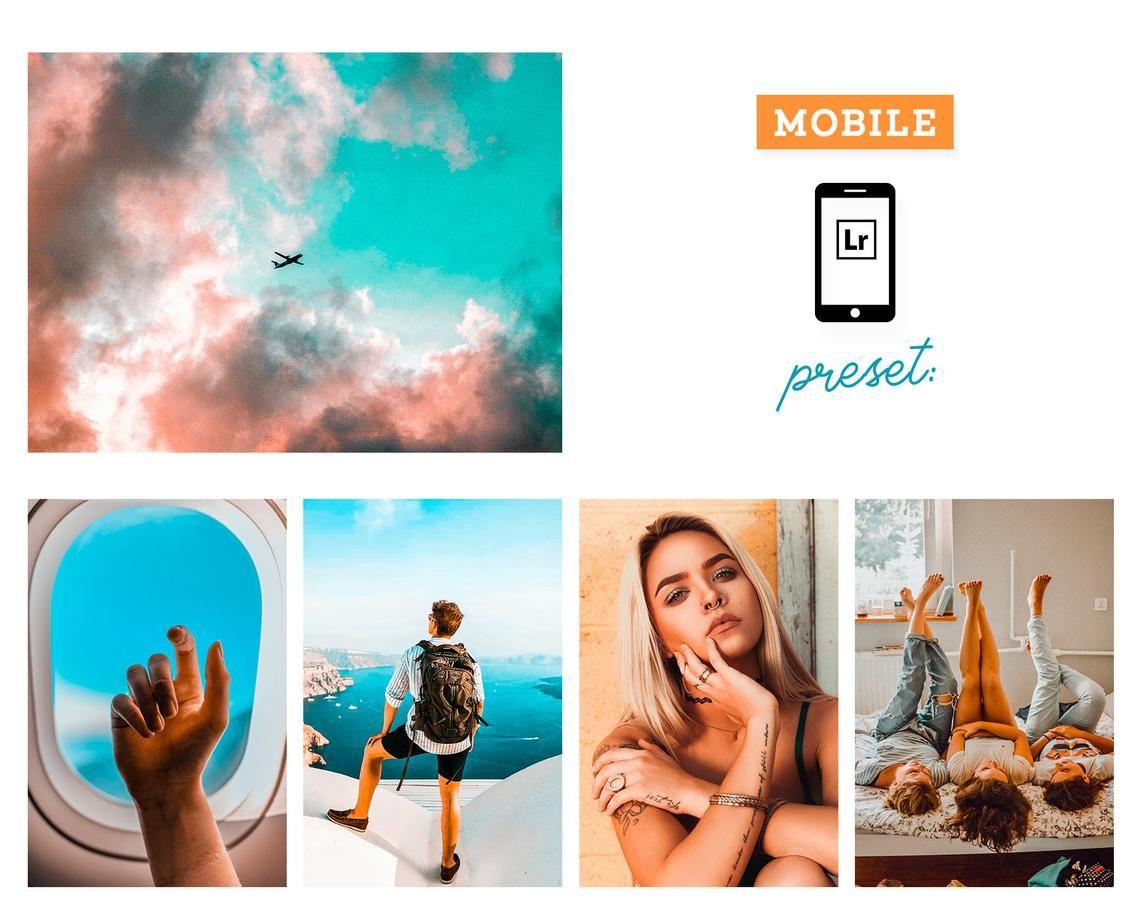 Orange And Teal Mobile Lightroom Preset Blogger Preset Etsy Lightroom Presets Lightroom Free Download Photoshop