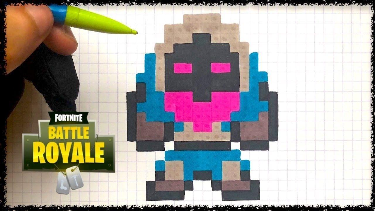 Dessin Pixel Fortnite Facile Dessin Pixel Fortnite Skin Facile Pixel Art Corbeau Fortnite Youtube Fortnite Pixel Art Pixel Art Fortnite Pixel Art