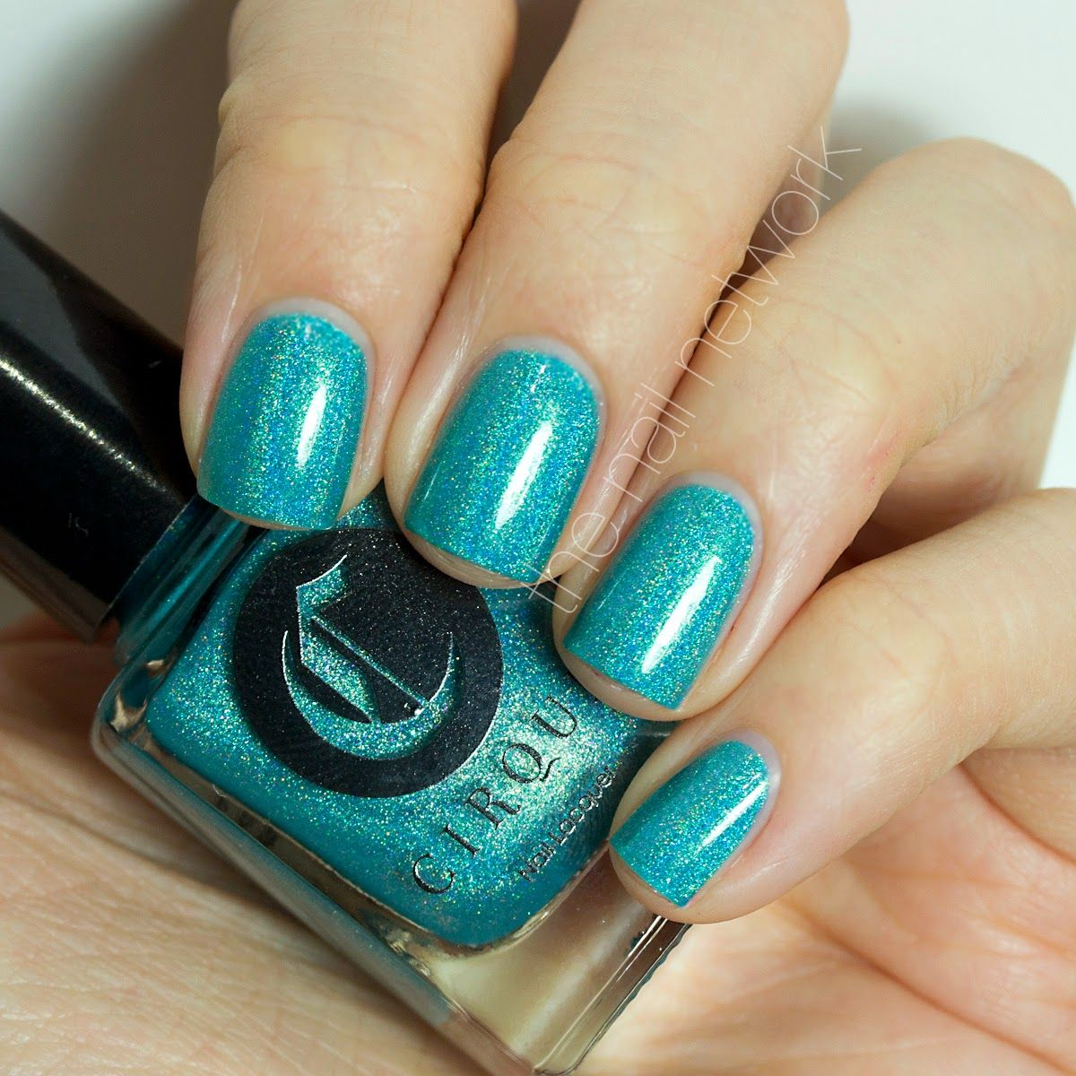 Cirque heritage collection swatchesreview nails blue