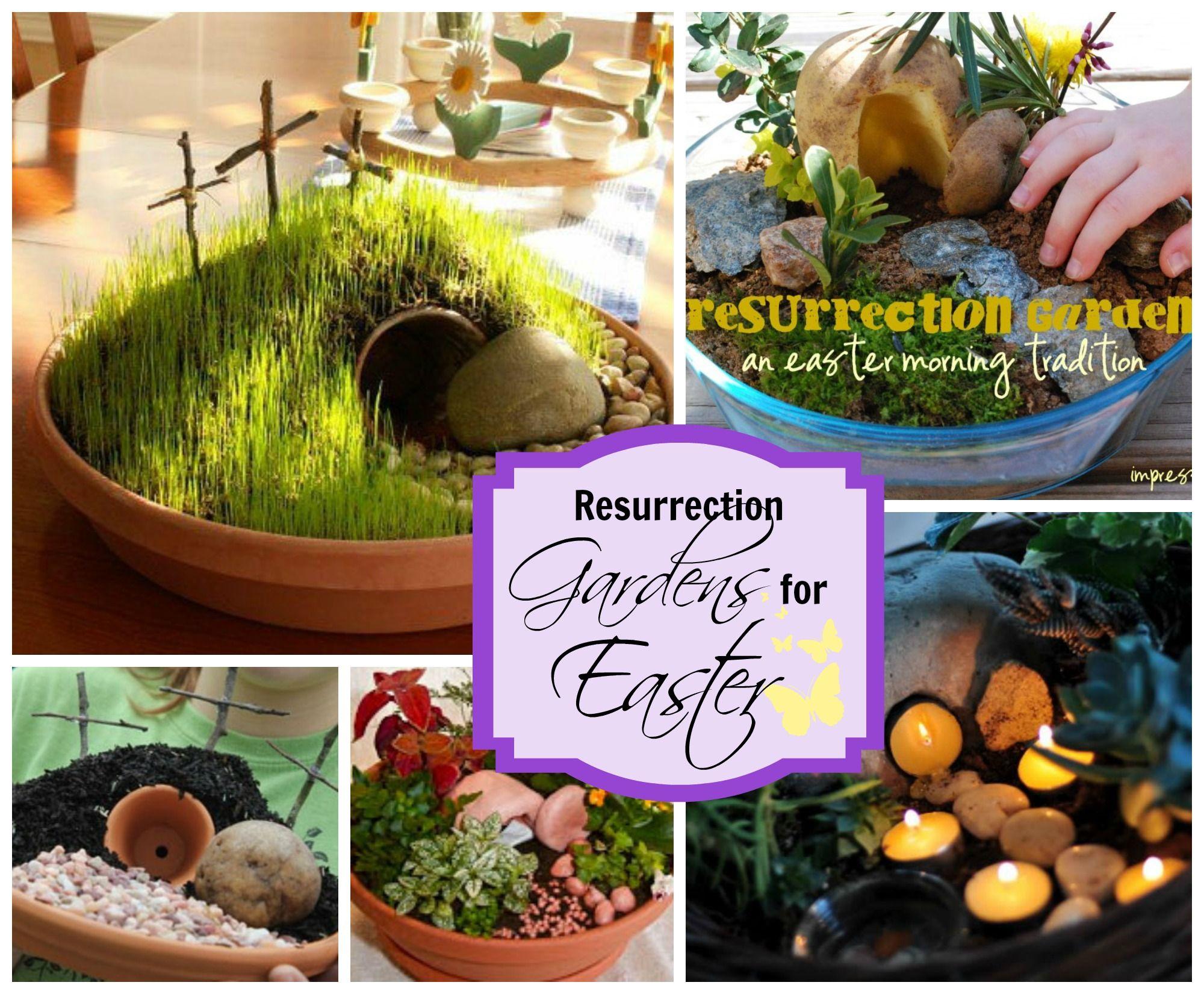Resurrections gardens and easter garden ideas easter for Easter garden designs