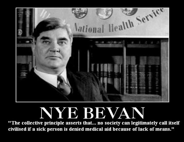 Save our NHS - we must fight to keep compassion in the heart of our welfare state...