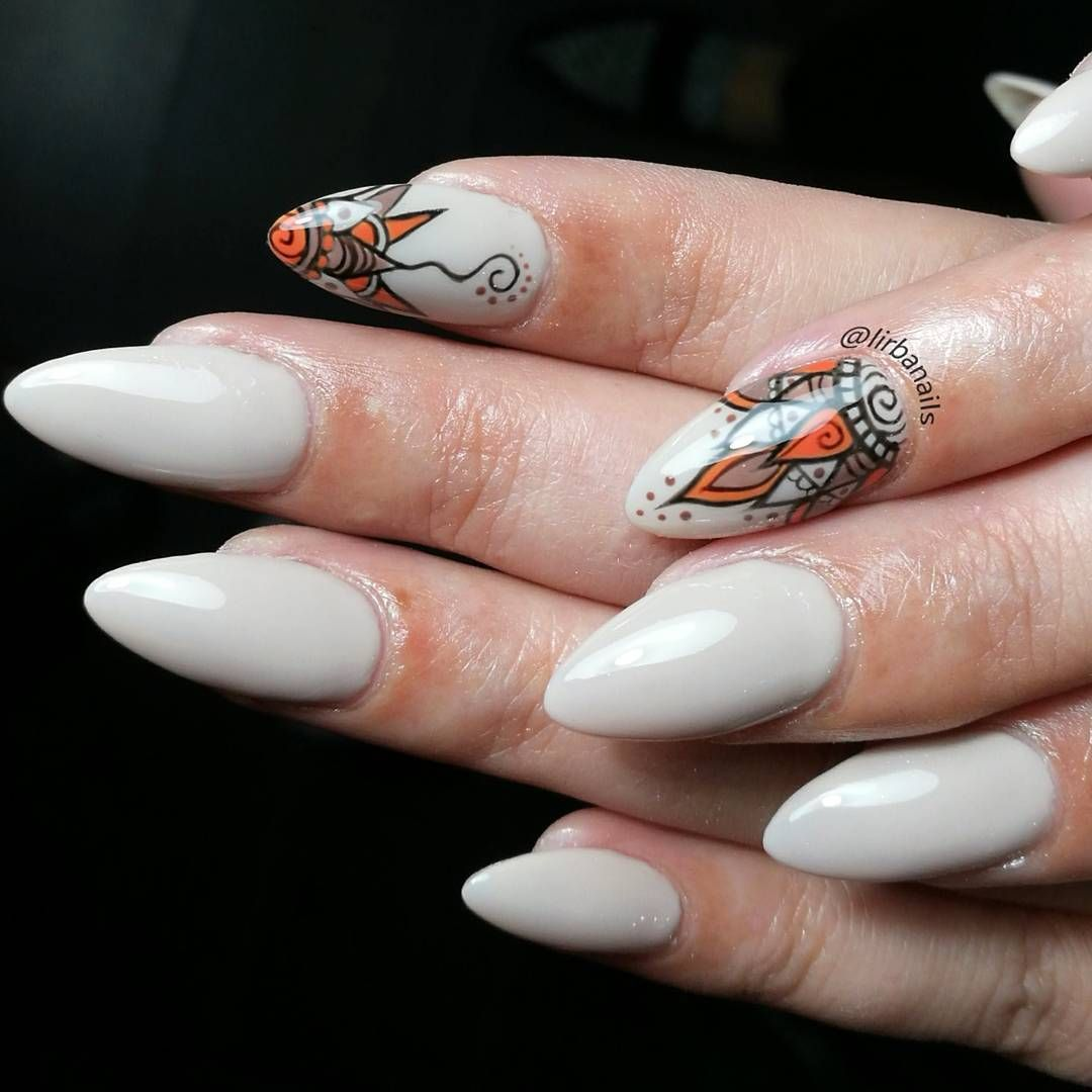 Henna-Inspired Nail Art - - NAILS Magazine | Nail ideas | Pinterest ...