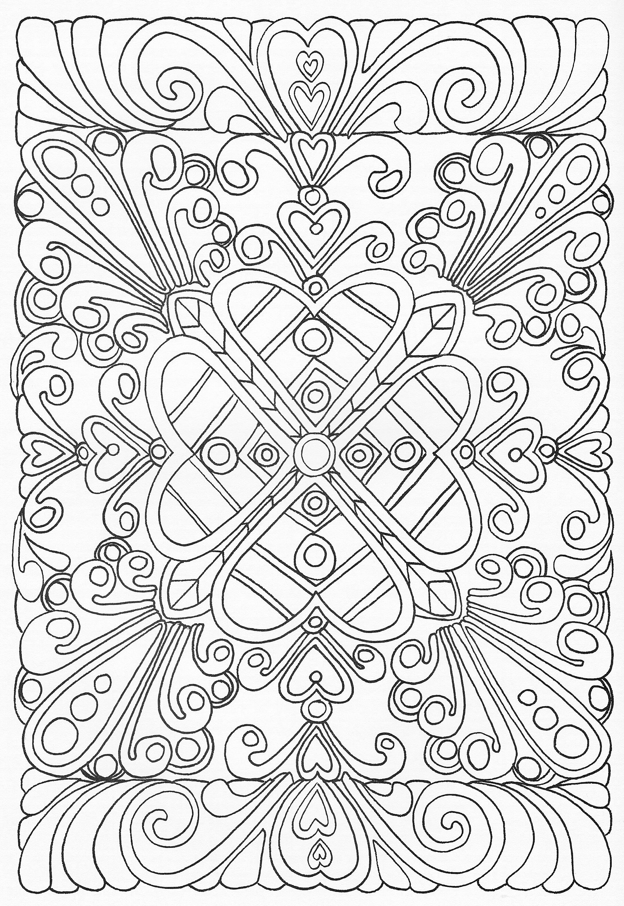 Detailed Coloring Pages Of Animals Tag: Detailed Coloring Pictures ... | 3162x2180