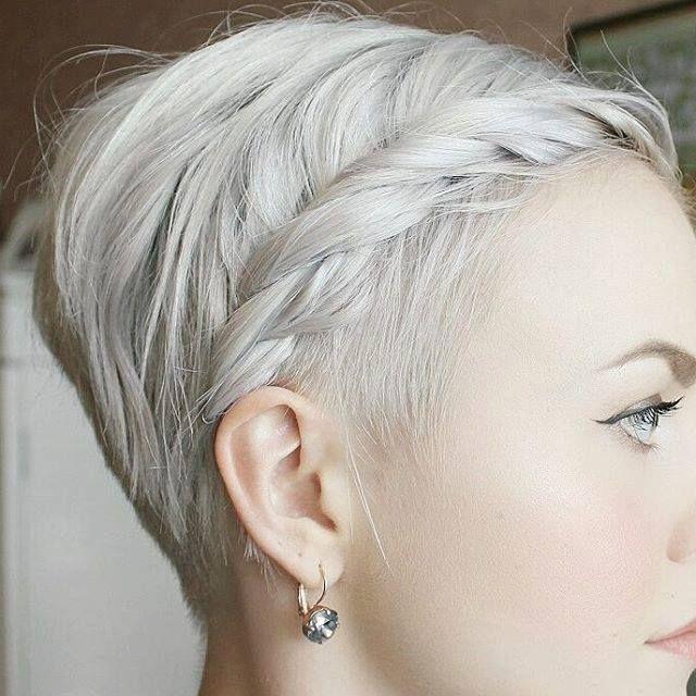 Pin By Jennie Nelson On Hair Kurze Haare Flechten Haar Ideen