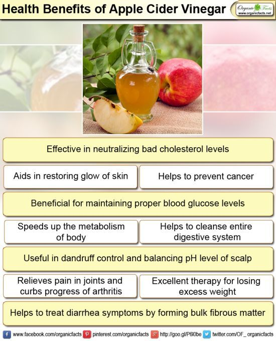 The health benefits of apple cider vinegar are many. To