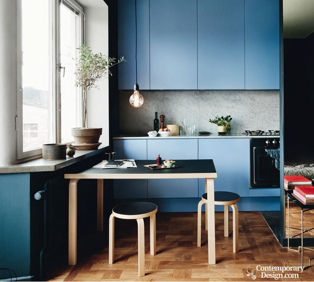 Kitchen design for small spaces | Interior stylist, Square meter and ...