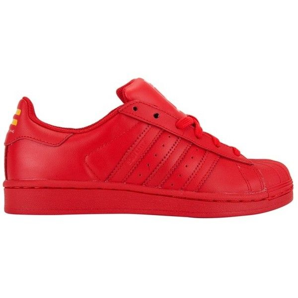 premium selection 030fe 0c8b1 adidas x Pharrell Williams Kids Superstar Supercolor Grade Schoo (1.460  ARS) ❤ liked on Polyvore featuring shoes, adidas and sneakers