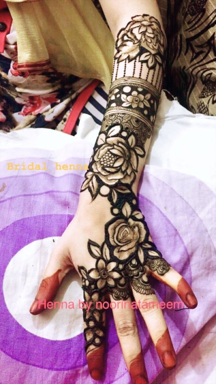 Rose Mehandi Mehndi Designs Dulhan Mehndi Designs Rose Mehndi Designs