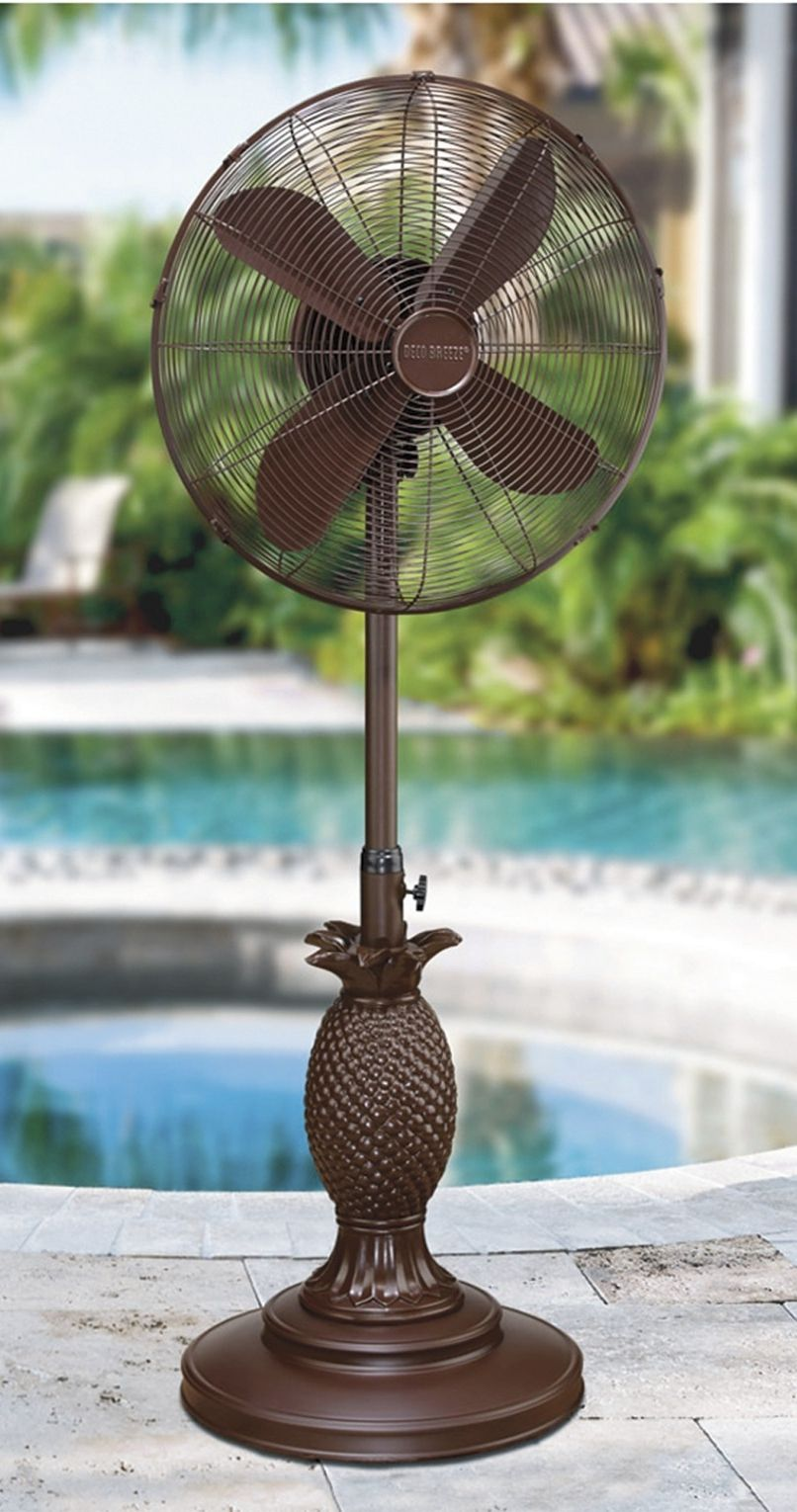 The Pineapple Outdoor Fan Is Perhaps The Most Elegant Outdoor Fan Youu0027ll  Find And