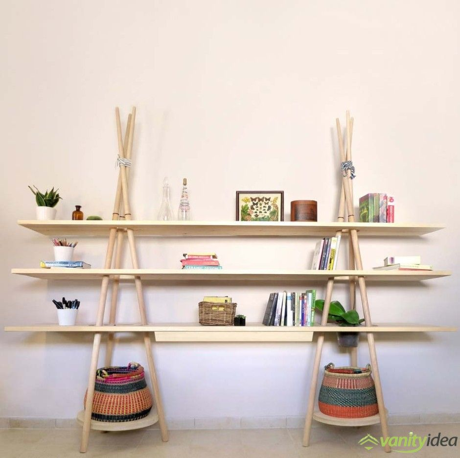 Shelving Inspired from Traveling