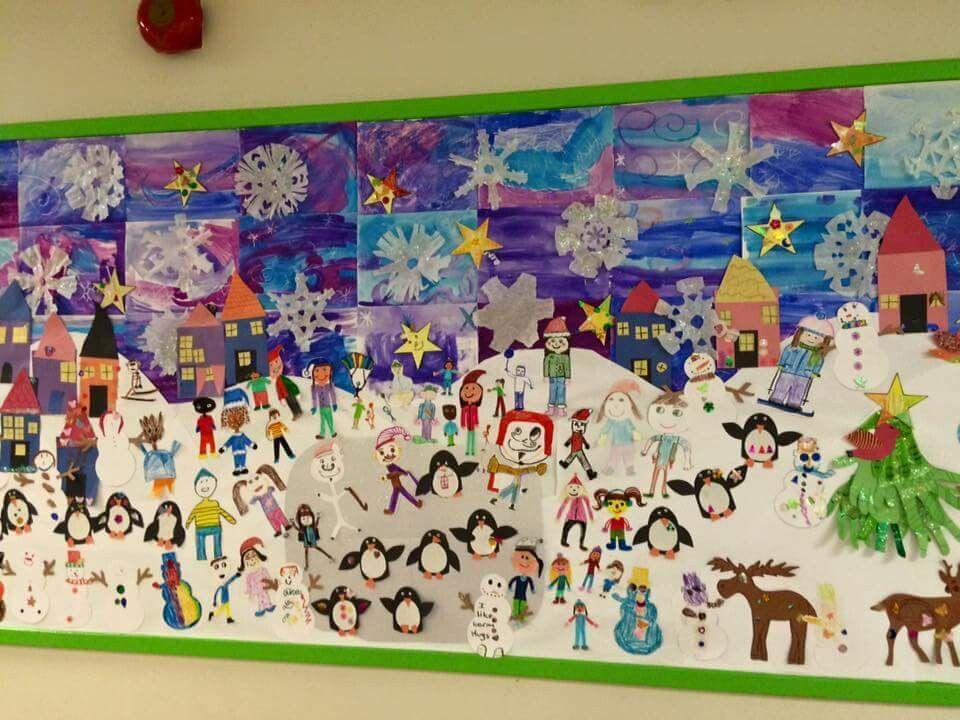 Kindergarten Group Art Projects
