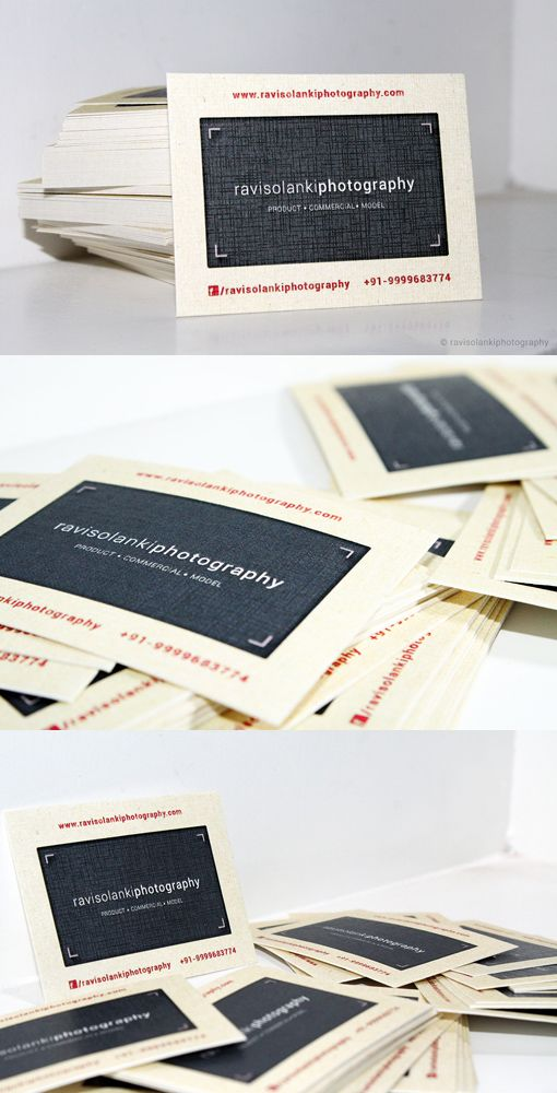 Photographer Business Card - inspired by 35mm slide film! | * DESIGN ...