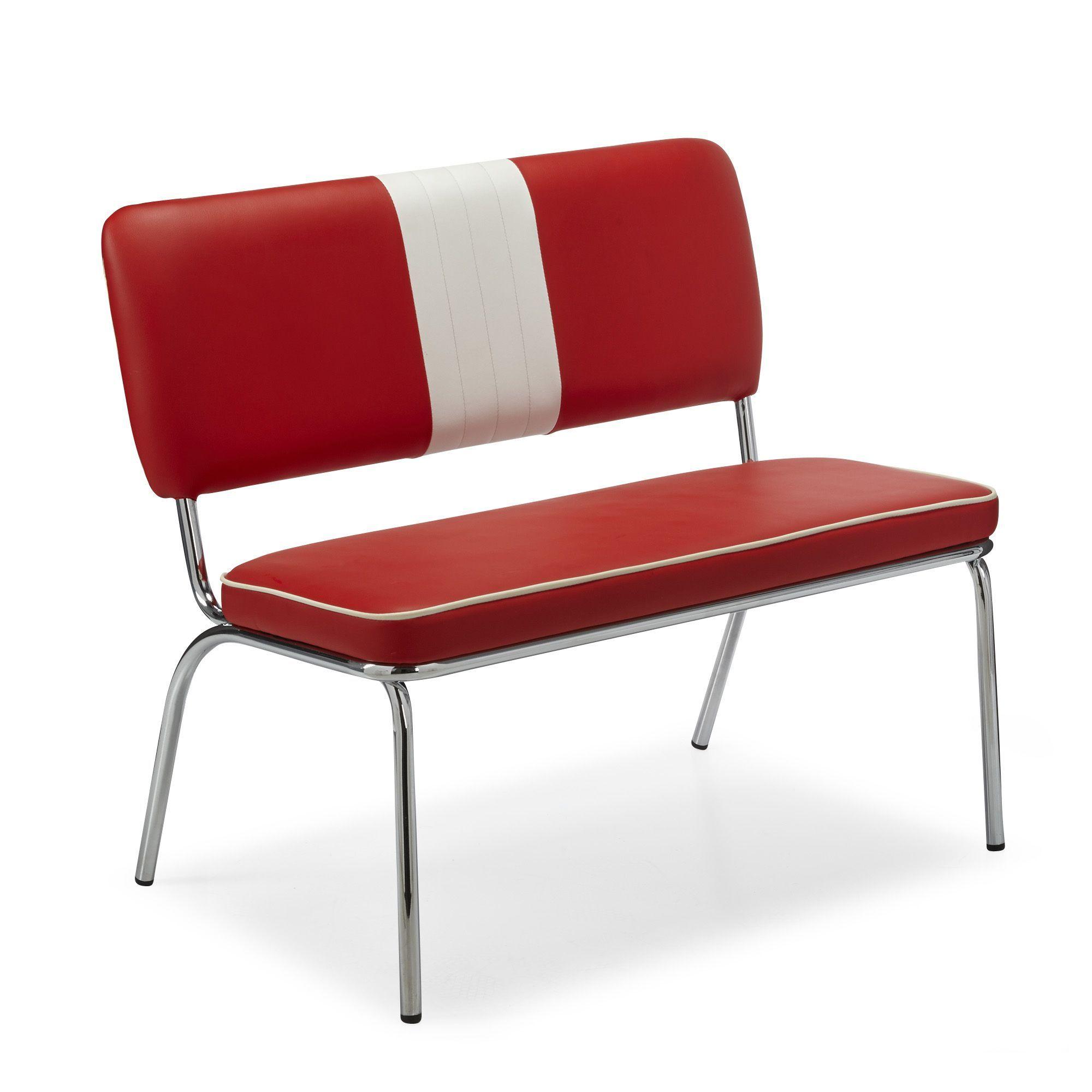 P Banquette Rouge Et Blanc P Presley Chaises Tables Chaises Salon Salle A Manger Par Piece Dec Mobilier De Salon Decoration Interieure Chaises Salon