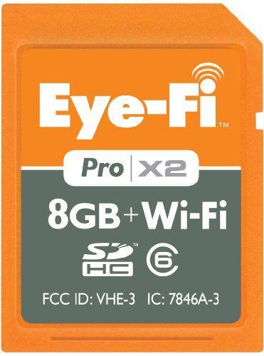 Eye-Fi Pro X2, 8GB