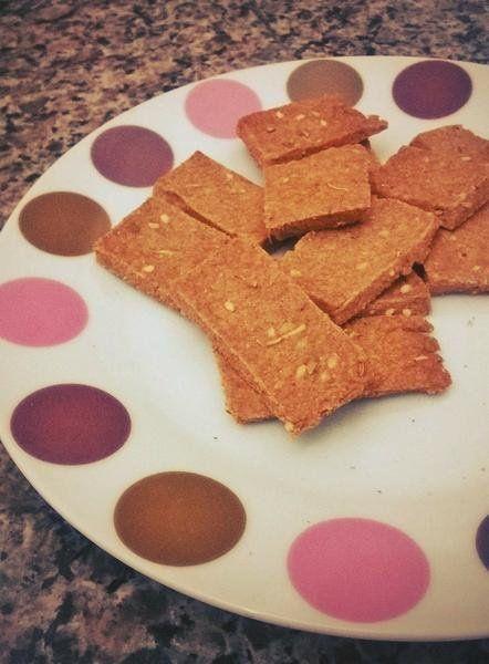 Cracker Integral de Gergelim   Receita