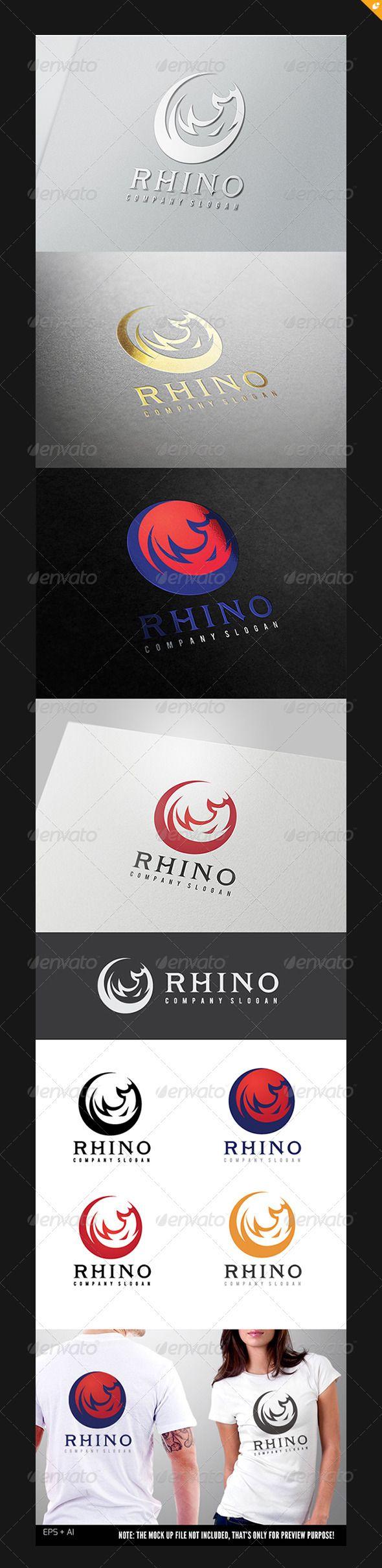 Rhino V1 Tarjetas De Presentacion Tarjeta Presentaciones