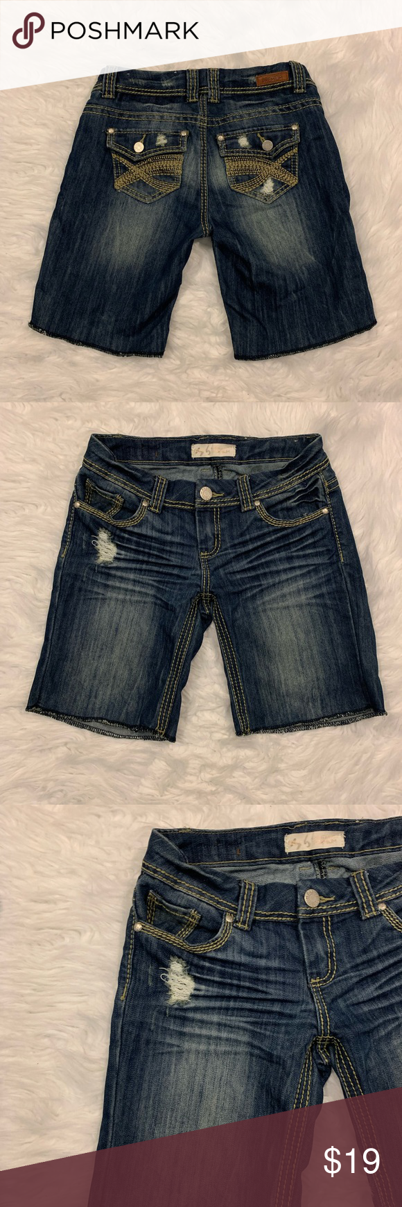 Almost Famous Jean Shorts Size 3