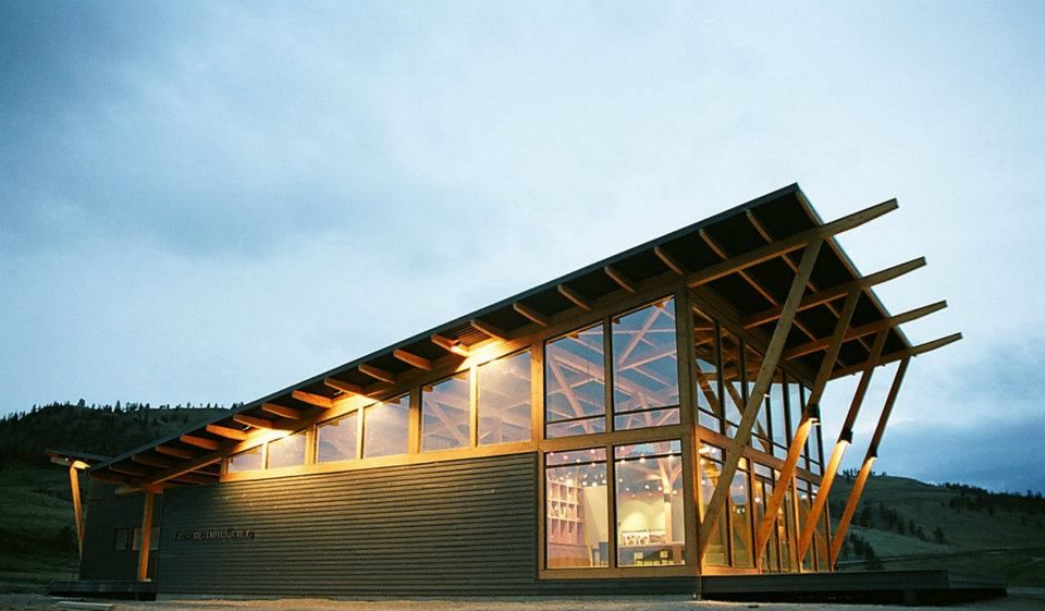 Commercial Buildings Architecture Glulam Timber