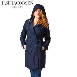 Ilse Jacobsen Womens Rain Trenchcoat