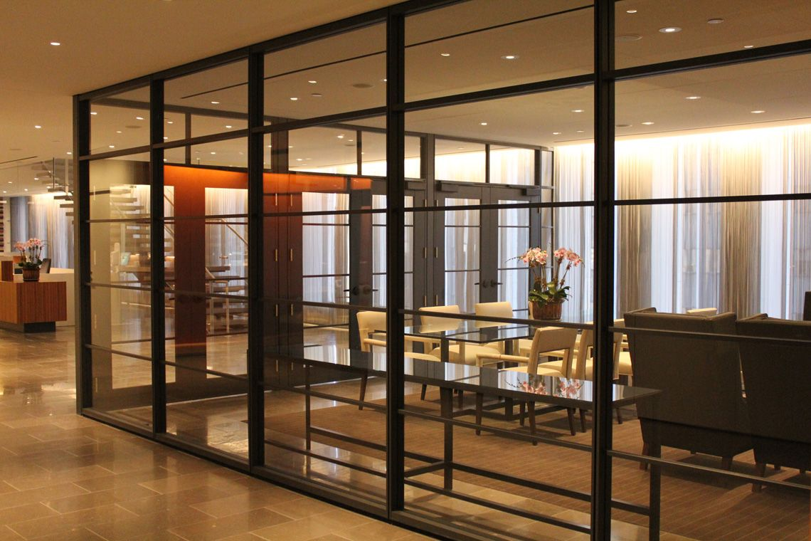 Movable Walls Modular Office Furniture Systems Glass Partition
