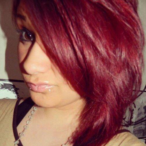 rouge bordeaux cheveux recherche google coiffure pinterest coiffures cheveux coiffure. Black Bedroom Furniture Sets. Home Design Ideas
