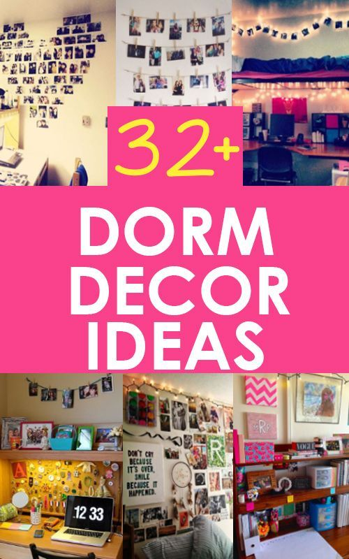 Dorm Decorating Ideas  College and Students