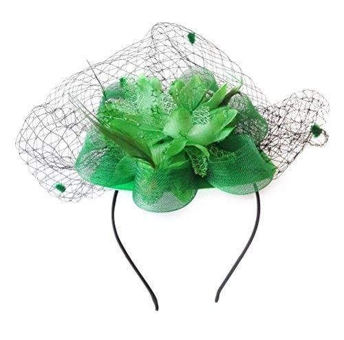 Wool Mesh Feather And Veil Material Wool Mesh Feather And Veil Women S Vintage Flower Feather Mesh Net Fasc Feather Flower Flower Veil Fascinator Hats Diy