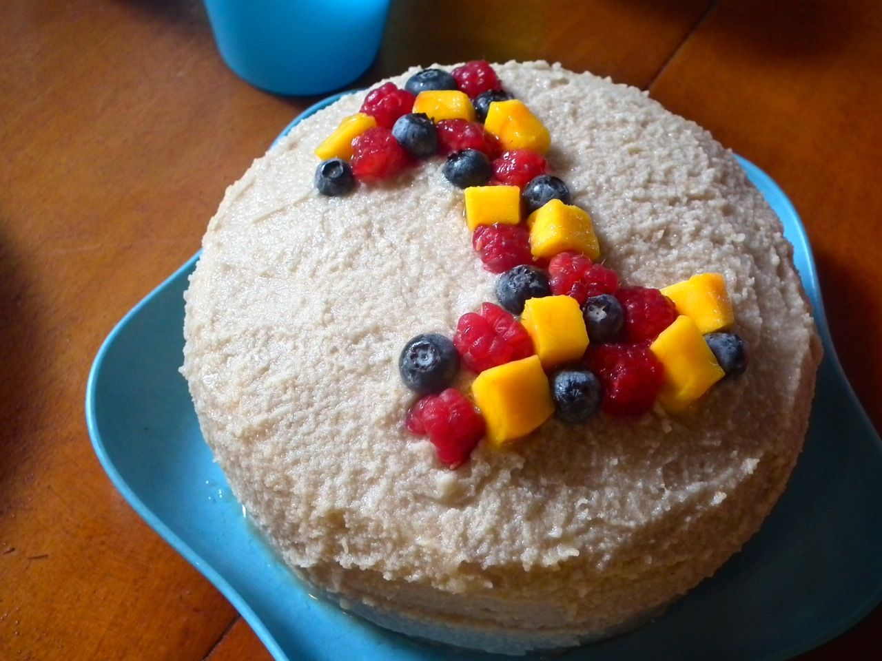 Baby's First Birthday Cake (With a Healthy Twist!) Baby