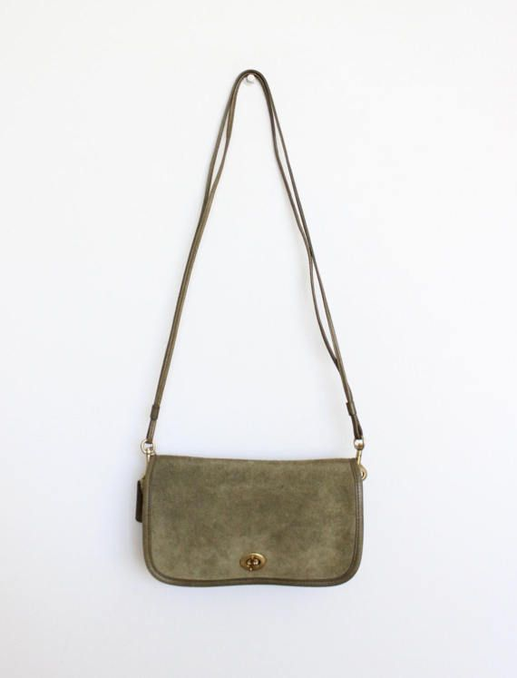 Vintage Coach Bag RARE // Bonnie Cashin Suede Pre Creed Dinky New ...