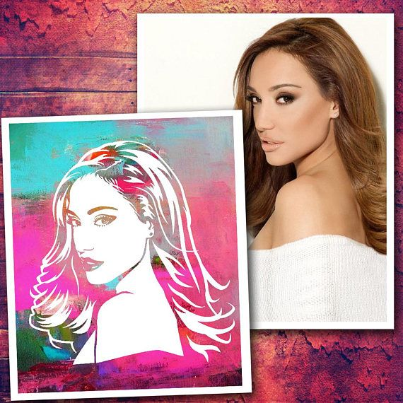 Painted by yourself custom pop art portrait from your photo diy gift diy project diy painting diy diy wall decorpainted by yourself custom pop art portrait from your photo diy diygift diyproject solutioingenieria Choice Image