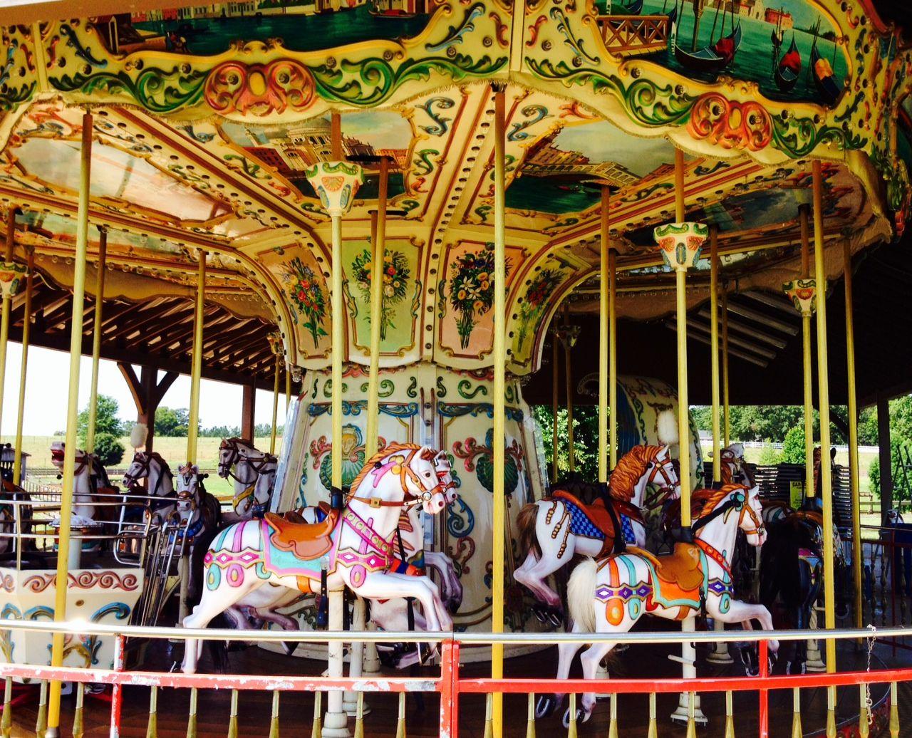 Carousel at the Rock Georgia