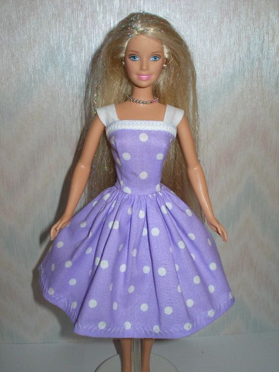Handmade 11.5 fashion doll clothes -Choose 1 - pink, green or purple ...