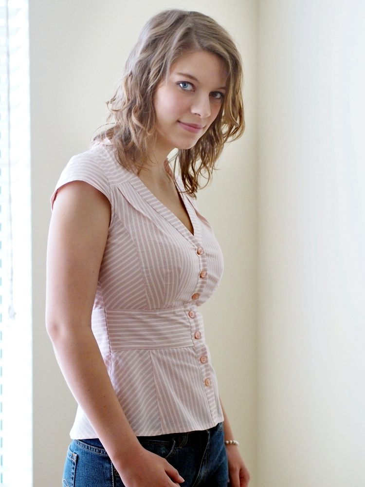 Busty with clothes