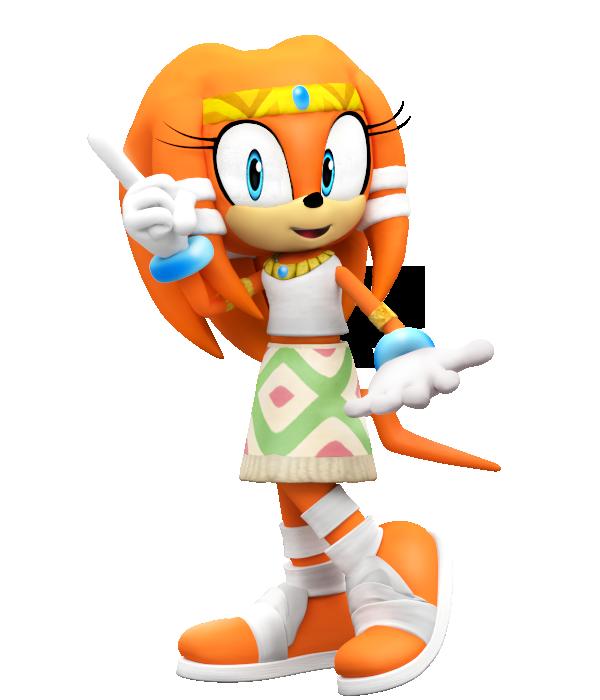 11++ Sonic tikal info